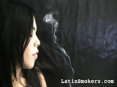 smoking porn videos - sexy babe riding